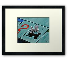 Short Line  Framed Print