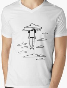 head in the clouds Mens V-Neck T-Shirt