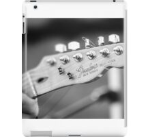 Fender Telecaster Monochrome - Detail iPad Case/Skin