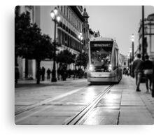 City Nights - Monochrome  Canvas Print