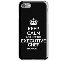 Keep Calm Executive Chef iPhone Case/Skin