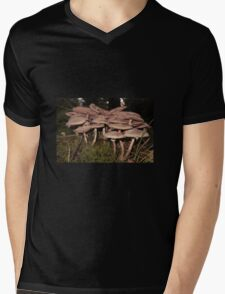 Wild Mushrooms Mens V-Neck T-Shirt