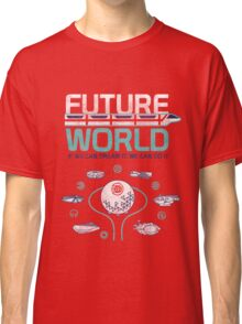 Future World Map in Colors Classic T-Shirt