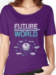 Future World Map in Colors Women's Relaxed Fit T-Shirt