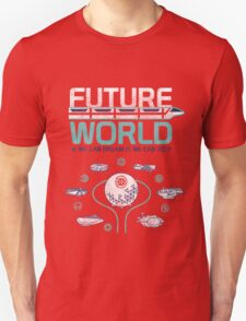 Future World Map in Colors Unisex T-Shirt