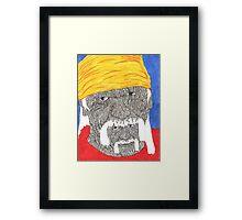 hulk hogen Framed Print