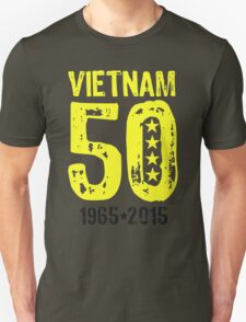 Vietnam War 50th Anniversary Unisex T-Shirt