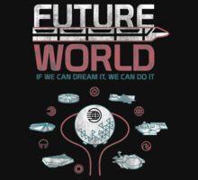 1982 EPCOT Center Future World Map One Piece - Short Sleeve