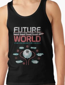 1982 EPCOT Center Future World Map Tank Top