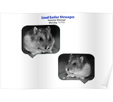 Hamster Message Poster