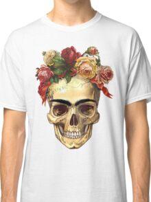 Frida Kahlo Skull Classic T-Shirt