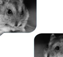 Hamster Message Sticker