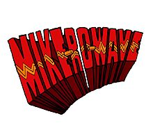 ▼▲ Mike-Ro-Wave ▲▼ Photographic Print