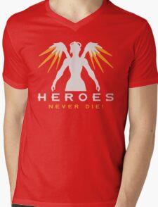 Overwatch - Heros never die ! Mens V-Neck T-Shirt