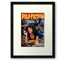 Quentin Tarantino, Pulp Fiction Framed Print