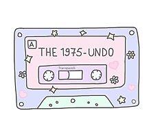 The 1975-UNDO Tape Photographic Print