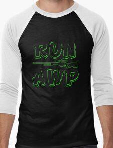 Run AWP Men's Baseball ¾ T-Shirt