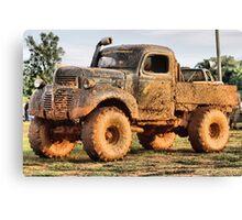 Mud truck ( Korn fed ) Canvas Print