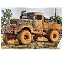 Mud truck ( Korn fed ) Poster