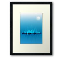 Canada lake Framed Print