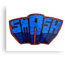 ☢ smAsh ☢ Metal Print