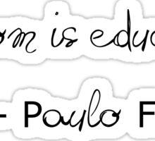 Paulo Freire Sticker