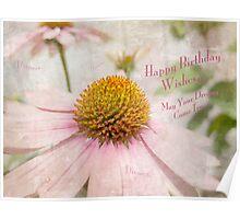 Happy Birthday Wishes Poster