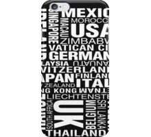 Bill Hicks - Around The World iPhone Case/Skin
