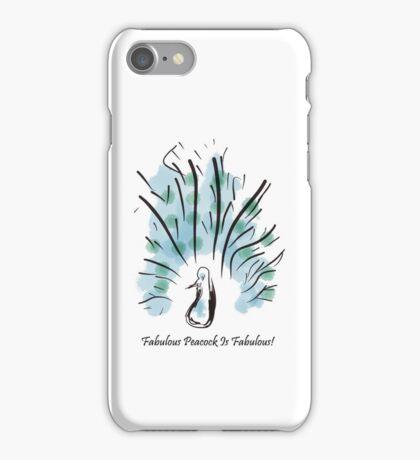 Fabulous Peacock iPhone Case/Skin