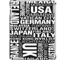 Bill Hicks - Around The World iPad Case/Skin