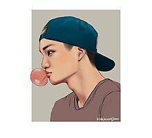 Bubble Gum ▲ Jongin Photographic Print