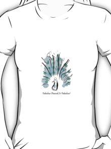 Fabulous Peacock T-Shirt