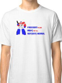 Optimus Prime Motto Classic T-Shirt