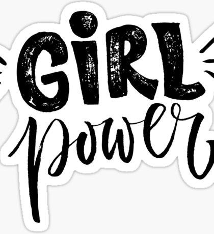 Girl power. Feminism quote Sticker