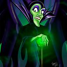 Maleficent Spell by Topher Adam by TopherAdam