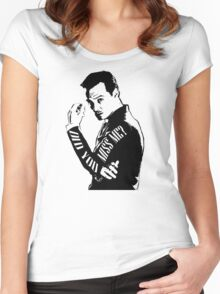 Moriarty- Did you Miss Me?  Women's Fitted Scoop T-Shirt