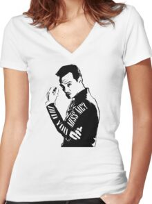 Moriarty- Did you Miss Me?  Women's Fitted V-Neck T-Shirt