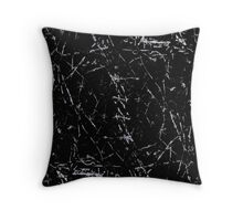 Line Art - Cracks Throw Pillow