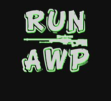 Run AWP white Unisex T-Shirt