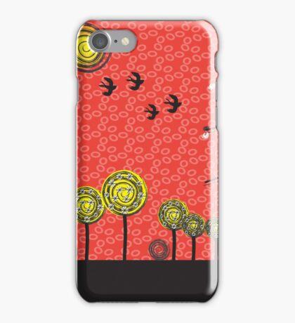Geometric Nature IV iPhone Case/Skin