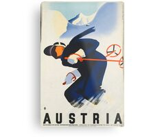 Ski Austria Metal Print