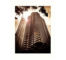 High-Rise in Surfers Paradise Art Print