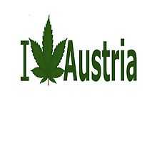 I Love Austria by Ganjastan