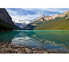 Lake Louise Splendour Photographic Print