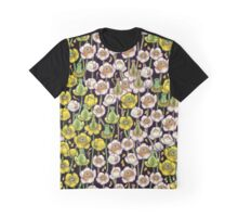 waterlily pattern Graphic T-Shirt