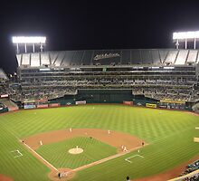 Oakland Athletics by KingMano