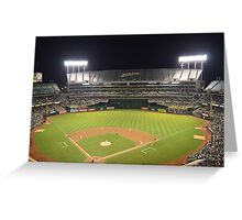 Oakland Athletics Greeting Card