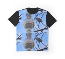 Berlin TV Tower with World Time Clock , Alex Graphic T-Shirt