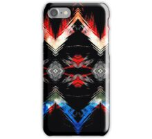 Shifted Red, White, & Blue iPhone Case/Skin