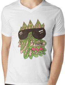 PX$HLIZARD Mens V-Neck T-Shirt